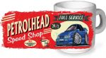 Koolart PERTOLHEAD SPEED SHOP Design For Retro Ford Sapphire RS Cosworth Ceramic Tea Or Coffee Mug